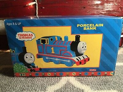 Thomas The Train Porcelain Bank New In Box From 2001 Thomas And Friends