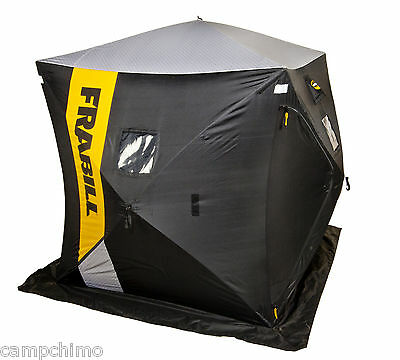 Frabill Hq Series Hq200 2-3 Anglers Plus Gear Pop-Up Ice Fishing Shelter