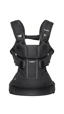 BABYBJÖRN Baby Carrier One Black Cotton Mix long-lasting ergonomic carrying 0-3