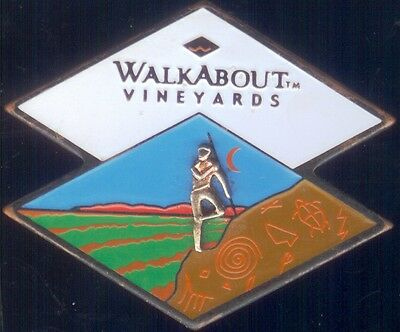 Outback Steakhouse Walkabout Vineyards hat lapel pin