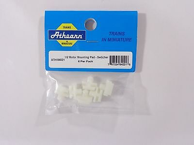 Model Train 1/2 Motor Mounting Pads Switcher HO (6) - Athearn #84021