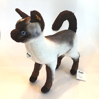 NEW TAGS Steiff Kiki Siamese Cat Masterpiece Collection~FREE SHIP~Stuffed Alpaca