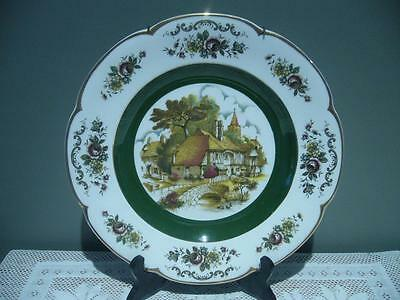 Wood & Sons England Large Scenic Wall Plate With Hanger - Reasonable Cond