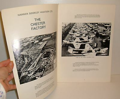 ** VINTAGE 1970s HAWKER SIDDELEY AVIATION of CHESTER ~ FACTORY HISTORY ETC **