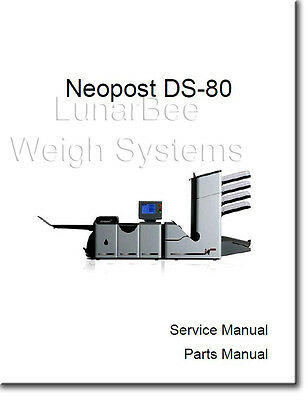 Service Repair Manual for Neopost DS80 Hasler M7000  Formax FD6402 FP fpi5500