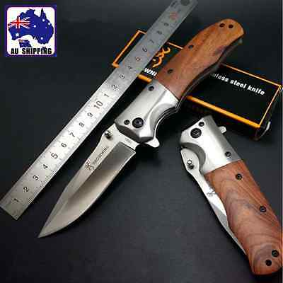 Pocket Folding Knife Camping Knives  Outdoor Hiking Tool NOT Edged OKNI47501