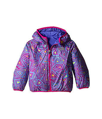 The North Face Kids Reversible Perrito Toddler Jacket Csc3Bdz Starry Purple Us
