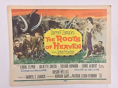 The Roots of Heaven Original 1958 Movie Lobby Card