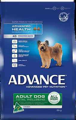 Advance Dog Adult Total Wellbeing Chicken All Breed Premium Dry Dog Food