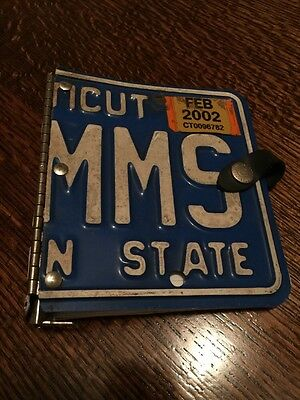 LITTLE EARTH ILLINOIS LICENSE PLATE Notebook Binder Connecticut