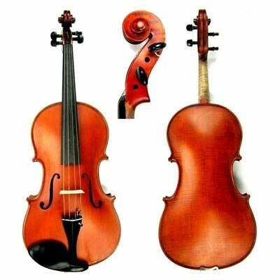 "Gliga GEMS II 16"" Viola Outfit Dark Antique setup Helicore Strings  Case & Bow"