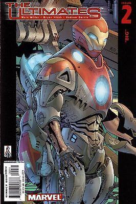 The Ultimates #2 VF 2002 Marvel Comic Book