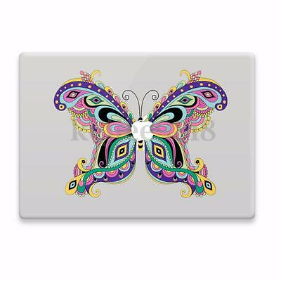 Colorful Butterfly Vinyl Decal Sticker Skin For Apple Macbook 11 12 13 15  17""