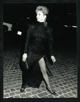1990 SANDY DUNCAN @ Fire and Ice Ball Vintage Original Photo VALERIE gp