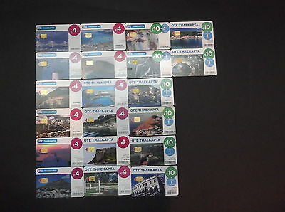 Griechenland Lot 20 Rare Different Phonecards From 2012 Mit Greek Islands Greece
