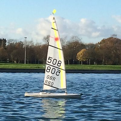Laser  Radio Contol model yacht complete package ready to sail in all conditions
