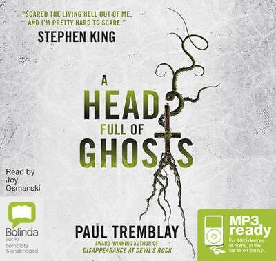 A Head Full of Ghosts: A Novel by Paul Tremblay Free Shipping!
