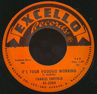 ** Charles Sheffield  Its Your Voodoo Working R&b Northern Crossover!!
