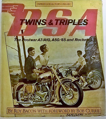 Bsa  Twins And Triples Roy Bacon Osprey