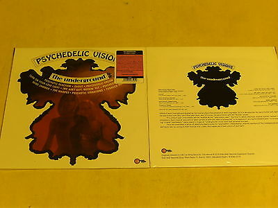 THE UNDERGROUND-Psychedelic Visions -LP reissue of 1967-psychedelic-WahWah