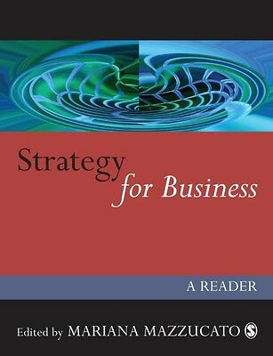 Strategy for Business: A Reader by Mariana Mazzucato Paperback Book (English)