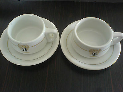 Thomas Rombouts Coffee Cup and Saucer x 2 (will split)
