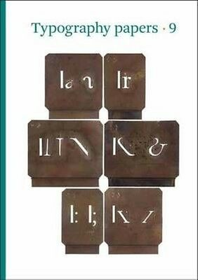 Typography Papers 9 by Paul Luna Paperback Book (English)