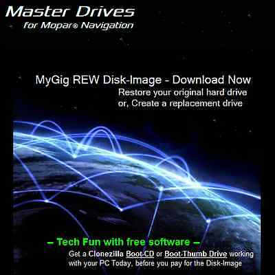 MyGig REW Disk-Image for your Hard Drive - to Restore or Replace your REW HDD