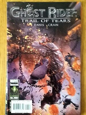Ghost Rider Trail of Fears 4 of 6 (VF) - July 2007 - postal discounts apply
