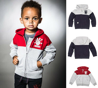 Baby Toddler Boys Hooded Fleece Jacket (6 Months - 3 Yrs)