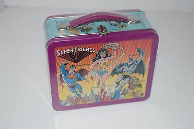 Hallmark School Days SUPER FRIENDS Reproduction Lunch Box NEW