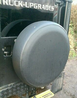 Land Rover Defender 90, 110, Vinyl Wheel Cover, 235 x 85 x 16, Wolf size etc