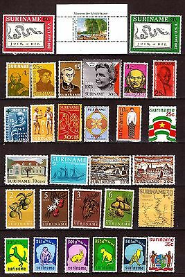 SURINAME Timbres neufs: usages courants ,sujets divers    330T3