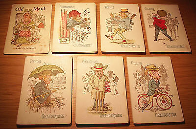 Rare Victorian / Vintage Old Maid Card Game