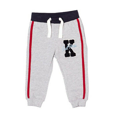 Baby Toddler Boys Fleece Pants Jogging Bottoms Joggers Grey 6 Months - 3 Years