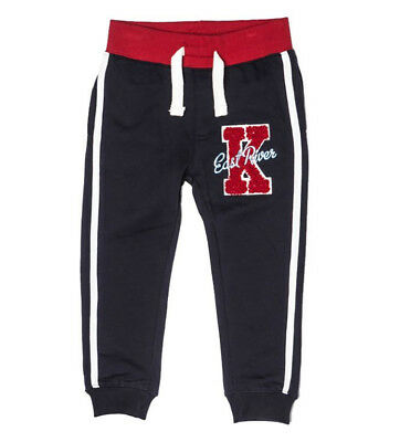 Baby Toddler Boys Navy Fleece Pants Jogging Bottoms Joggers (2-3 Yrs)