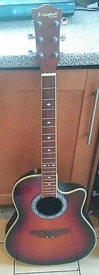 Westfield Pro Series Electric / Acoustic Guitar - SR383