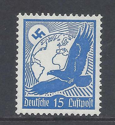 Third reich germany  mounted  mint  1934