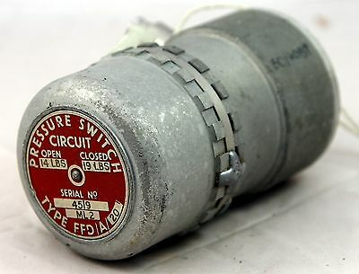 Pressure switch type FFD/A/20 for RAF aircraft (GC8)