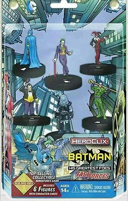 WizKids Games Heroclix - Batman and his Greatest Foes Fast Forces 6-Pack