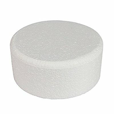 "Cake Dummy - Round - 10"" Diameter x 4"" High - Chamfered Edge"