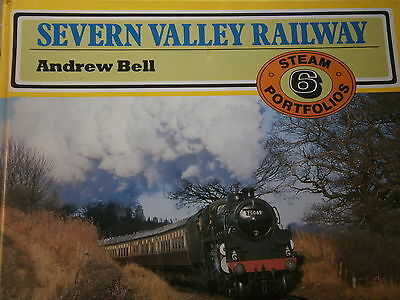 Severn Valley Railway GWR Andrew Bell Published 1991 Shropshire Worcestershire