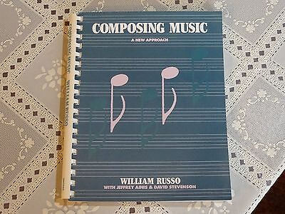Composing Music A New Approach by William Russo 1988 Book Creating 230 pages