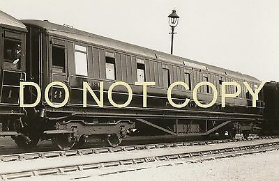 LNER Gresley 3rd.class Sleeping Car 1344 Photo by REAL PHOTOGRAPHS Broadstairs