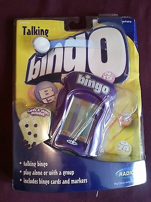 Radica Talking Bingo Touch Screen - Includes Hand Held Only (No Stylus or Cards)