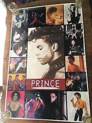Vtg Prince Promo Poster The Hits Paisley Park 1993