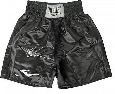 Mike Tyson Authentic Signed Everlast Boxing Trunks Autographed PSA/DNA ITP 2