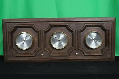 Springfield Gauge Wall Weather Station Scientific Instruments Collectible Wall