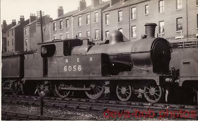 Railway Photo LNER C13 6056 Neepsend Shed GCR Robinson 4-4-2T Loco Great Central