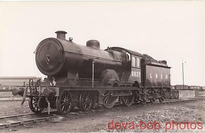 Railway Photo LNER D16 8827 March Shed 1934 Great Eastern GER D16/3 4-4-0